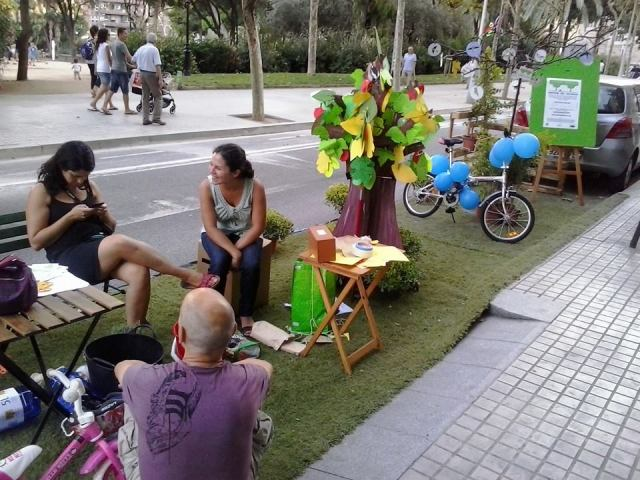 PARKingDay-Barcelona