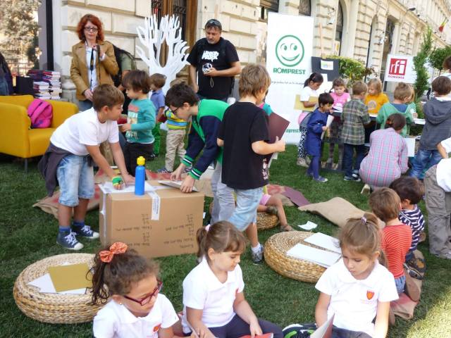 PARKingDay-Bukarest